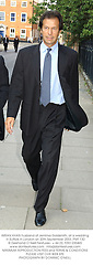 IMRAN KHAN husband of Jemima Goldsmith, at a wedding in Suffolk in London on 20th September 2003.PMT 130