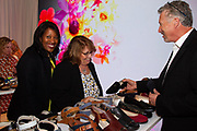SAS Shoes sponsor booth, and guests