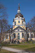 The Katarina Kyrka Catherine Church on Sodermalm. Stockholm. Sweden, Europe.