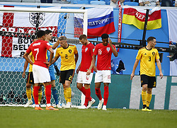 July 14, 2018 - Saint Petersbourg, Russie - SAINT PETERSBURG, RUSSIA - JULY 14 : Toby Alderweireld defender of Belgium during the FIFA 2018 World Cup Russia Play-off for third place match between Belgium and England at the Saint Petersburg Stadium on July 14, 2018 in Saint Petersburg, Russia, 14/07/18 (Credit Image: © Panoramic via ZUMA Press)