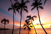 Sunset, Napili Bay, Maui, Hawaii