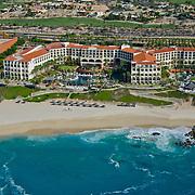 Aerial view of Hilton LOs Cabos hotel. Cabo San Lucas,Baja California Sur, Mexico.