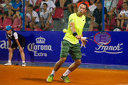 Philipp Kohlschreiber (GER) during a tennis match against the Paolo Lorenzi (ITA) in second round of singles at 26. Konzum Croatia Open Umag 2015, on July 23, 2015, in Umag, Croatia. Photo by Urban Urbanc / Sportida