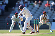 Lancashires Haseeb Hameed  during the Specsavers County Champ Div 2 match between Lancashire County Cricket Club and Northamptonshire County Cricket Club at the Emirates, Old Trafford, Manchester, United Kingdom on 14 May 2019.