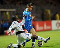 v.l. Gerald Asamoah , Vedad Ibisevic TSG<br /> <br /> Bundesliga TSG 1899 Hoffenheim - FC Schalke 04<br /> <br /> Norway only