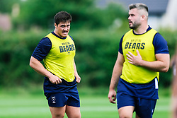 Jordan Lay looks on during week 1 of Bristol Bears pre-season training ahead of the 19/20 Gallagher Premiership season - Rogan/JMP - 03/07/2019 - RUGBY UNION - Clifton Rugby Club - Bristol, England.