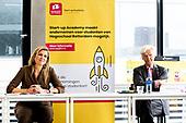 Koningin Maxima bezoekt Hogeschool Rotterdam