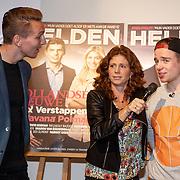 NLD/Amsterdam/20160202 - Lancering Helden magazine, Luuk de Jong en Nederlands Kampioen FIFA Koen Weijland