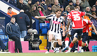 Photo: Steve Bond/Sportsbeat Images.<br /> West Bromwich Albion v Charlton Athletic. Coca Cola Championship. 15/12/2007. Tony Mowbray (far left) watches his team impassively