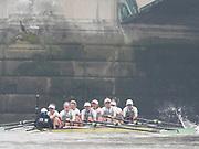 Putney, London, Varsity Boat Race, 07/04/2019, Embankment, Oxford V Cambridge, Men's Race, Women's Race, Championship Course,<br /> [Mandatory Credit: Patrick WHITE], Sunday,  07/04/2019,  2:32:37 pm,