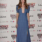 Lauren Mackenzie attends the Raindance Opening Gala 2018 held at Vue West End, Leicester Square on September 26, 2018 in London, England.