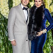 NLD/Amsterdam//20170309 - 5 jarig bestaan Vogue, Lieke van Lexmond en partner Bas van Veggel