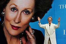 Meryl Streep Iron Lady Poster launch