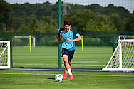 Heung-Min Son at a Tottenham Training Session at Tottenham Training Centre, Enfield, United Kingdom on 13 September 2016. Photo by Jon Bromley.
