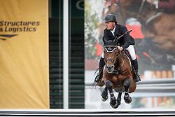 Greve Willem, (NED), Eldorado vd Zeshoek Tn<br /> Akita Drilling Cup<br /> Spruce Meadows Masters - Calgary 2015<br /> © Hippo Foto - Dirk Caremans<br /> 09/09/15