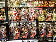 Japanese Dolls for sale in Nakamise-Dori<br /> Asakusa, Tokyo, Japan<br /> May 2015