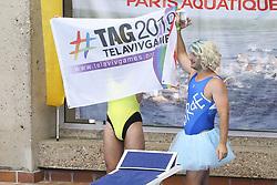 August 10, 2018 - Paris, FRANCE - Equipe de TelAviv fait son show (Credit Image: © Panoramic via ZUMA Press)