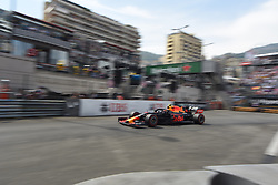 May 25, 2019 - Monaco, Monaco - French driver Pierre Gasly of Austrian Anglo team Aston Martin Red Bull Racing driving his single-seater RB15 during the 90th edition of the Monaco GP, 6th stage of the Formula 1 world championship, in Monaco-Ville, Monaco  (Credit Image: © Andrea Diodato/NurPhoto via ZUMA Press)
