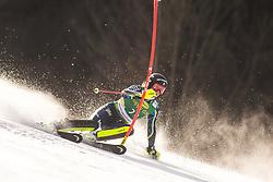 Sara Hector (SWE) during the Ladies' Slalom at 56th Golden Fox event at Audi FIS Ski World Cup 2019/20, on February 16, 2020 in Podkoren, Kranjska Gora, Slovenia. Photo by Matic Ritonja / Sportida