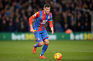 Joel Ward of Crystal Palace in action. Barclays Premier league match, Crystal Palace v Sunderland at Selhurst Park in London on Monday 23rd November 2015.<br /> pic by John Patrick Fletcher, Andrew Orchard sports photography.