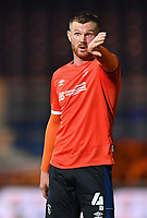 Football - 2020 / 2021 EFL Carabao Cup - Round Three - Luton Town vs Manchester United<br /> <br /> Luton Town's Ryan Tunnicliffe, at Kenilworth Road.<br /> <br /> COLORSPORT/ASHLEY WESTERN