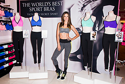 Victoria's Secret Angel Alessandra Ambrosio celebrates world's best sport bras at the Victoria's Secret Beverly Center store in Beverly Hills, Los Angeles, CA, USA on October 24, 2013. Photo by Lionel Hahn/ABACAPRESS.COM