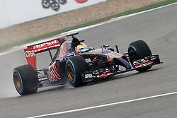 19.04.2014, International Circuit, Shanghai, CHN, FIA, Formel 1, Grand Prix von China, Qualifying Tag, im Bild Jean-Eric Vergne (FRA) Scuderia Toro Rosso STR9. // during the Qualifyingday of Chinese Formula One Grand Prix at the International Circuit in Shanghai, China on 2014/04/19. EXPA Pictures © 2014, PhotoCredit: EXPA/ Sutton Images/ Mina<br /> <br /> *****ATTENTION - for AUT, SLO, CRO, SRB, BIH, MAZ only*****
