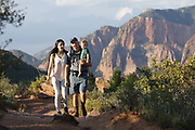 SHOT 8/6/17 6:32:04 PM - UOT Tourism photos of Brian Head and Cedar City, Utah. Images include riding Brian Head Resort in Brian Head, Utah; exploring Cedar Breaks National Monument, hiking Kolob Canyons in Zion National Park and mountain biking the Lava Flow Trail in Cedar City, Utah. (Photo by Marc Piscotty / © 2017)