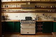 The kitchen at Vanbrugh Castle, Greenwich, London, UK CREDIT: Vanessa Berberian for The Wall Street Journal. VANBRUGH