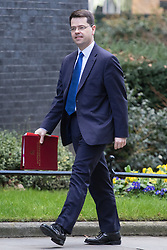 Downing Street, London, February 28th 2017. Northern Ireland Secretary James Brokenshire attends the weekly cabinet meeting at 10 Downing Street in London.