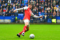 Fleetwood Town's Ched Evans in action<br /> <br /> Photographer Richard Martin-Roberts/CameraSport<br /> <br /> The EFL Sky Bet League One - Bolton Wanderers v Fleetwood Town - Saturday 2nd November 2019 - University of Bolton Stadium - Bolton<br /> <br /> World Copyright © 2019 CameraSport. All rights reserved. 43 Linden Ave. Countesthorpe. Leicester. England. LE8 5PG - Tel: +44 (0) 116 277 4147 - admin@camerasport.com - www.camerasport.com