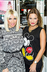 © Licensed to London News Pictures. 06/12/2013, UK. Sam and Billie Faiers, Sam and Billie Faiers - signing, Casio, Covent Garden, London UK, 06 December 2013. Photo credit : Raimondas Kazenas/Piqtured/LNP