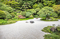 "Hokokuji Zen Garden -  Hokoku-ji Kamakura is world famous for its bamboo garden containing more than 2000 Moso bamboos trees. Its nickname is Take-dera ""Bamboo Temple"" for that reason.  The bamboo garden is punctuated with stone lanterns, jizo and moss covered stones.  Besides the popular bamboo garden, and teahouse, Hokokuji also has a often overlooked Zen garden   Ashikaga Ietoki, ordered Zen priest Tengan Eko to establish Hokoku-ji. This temple became the family temple of the Ashikaga clan. Tengan was a disciple of Mugaku Sogen a contemporary of famous garden designer Muso Kokushi."