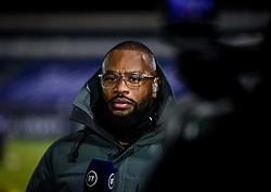 BT Sport Commentator Ugo Monye - Mandatory by-line: Andy Watts/JMP - 08/01/2021 - RUGBY - Recreation Ground - Bath, England - Bath Rugby v Wasps - Gallagher Premiership Rugby