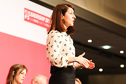 © Licensed to London News Pictures. 18/07/2015. Brighton, UK. Liz Kendal answers questions from the public at the Hustings event in Brighton's Metropole Hotel for the Labour Party Leader position alongside Jeremy Corbyn MP, Andy Burnham and Yvette Cooper on Saturday July 18th. Photo credit : Hugo Michiels/LNP