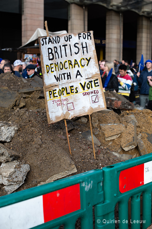 Stand up for British democracy with a People's Vote. Stay in EU.
