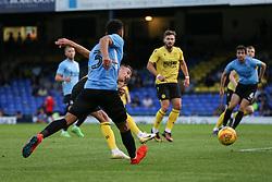 Jed Wallace of Millwall shoots - Mandatory by-line: Arron Gent/JMP - 24/07/2019 - FOOTBALL - Roots Hall - Southend-on-Sea, England - Southend United v Millwall - pre season friendly
