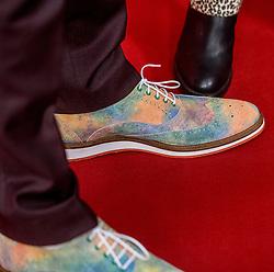 21-12-2016 NED: Sportgala NOC * NSF 2016, Amsterdam<br /> In de Amsterdamse RAI vindt het traditionele NOC NSF Sportgala weer plaats / de schoenen van Dorian van Rijsselberghe genomineerd voor de eretitel Sportman van het Jaar