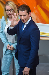 May 27, 2019, Vienna, Austria: Austrian Chancellor SEBASTIAN KURZ leaves a session of  Austria's lower house of parliament. Lawmakers in Austria's lower house of parliament, the National Council, approved on Monday the motion of no confidence against Chancellor Sebastian Kurz and his cabinet. What happened on Monday also makes Sebastian Kurz - at least for the time being - the shortest serving Chancellor of the Second Republic. (Credit Image: © Xinhua via ZUMA Wire)