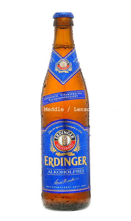 Bottle of Erdinger Non Alcoholic Lager