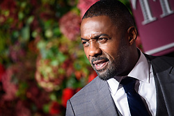 Idris Elba attending the Evening Standard Theatre Awards 2018 at the Theatre Royal, Drury Lane in Covent Garden, London. EDITORIAL USE ONLY. Picture date: Sunday November 18th, 2018. Photo credit should read: Matt Crossick/ EMPICS Entertainment.