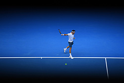 January 16, 2019 - Melbourne, AUSTRALIA - Roger Federer  (Credit Image: © Panoramic via ZUMA Press)