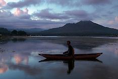 Mount and Lake Batur