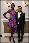 ALEK WEK; OSMAN YOUSEFZADA  , The Launch of OSMAN the Collective No.3, hosted by Valeria Napoleone, Kensington. 15 May 2014.