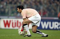 Roma 8/2/2004 Roma Juventus 4-0<br />Gianluigi Buffon (Juventus)<br />Photo Andrea Staccioli Graffiti