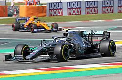 May 10, 2019 - Barcelona, Spain - Mercedes of Valtteri Bottas during the practices of the GP Spain Formula 1, on 10th May 2019, Barcelona, Spain. (Credit Image: © Joan Valls/NurPhoto via ZUMA Press)