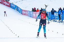 Anais Bescond (FRA) during the Mass Start Women 12,5 km at day 4 of IBU Biathlon World Cup 2019/20 Pokljuka, on January 23, 2020 in Rudno polje, Pokljuka, Pokljuka, Slovenia. Photo by Peter Podobnik / Sportida