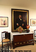 Former PA Governor Pennypacker portrait in Pennypacker Mansion, Montgomery Co., PA