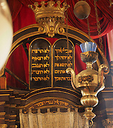 Croatia, Dubrovnik, interior of the synagogue in the Walled Old City