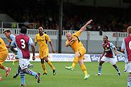 280713 Newport county v Aston Villa